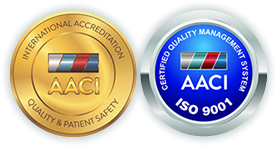 International Accreditation - Quality & Patent Safety - ISO 9001